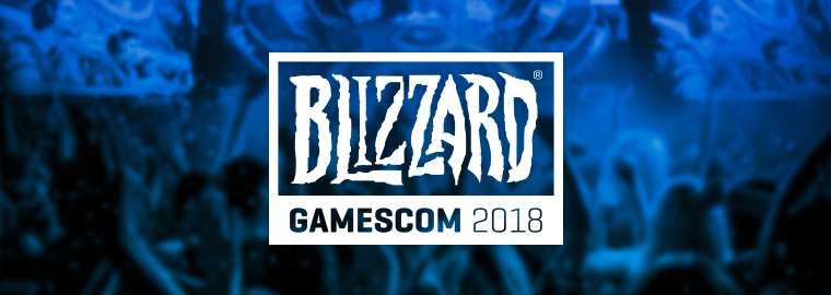 Blizzard Entertainment на gamescom 2018