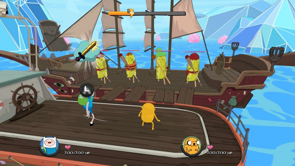 Обзор Adventure Time: Pirates of the Enchiridion — все на борт!