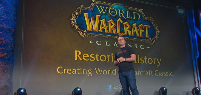 BlizzCon 2018: как воссоздается World of Warcraft Classic