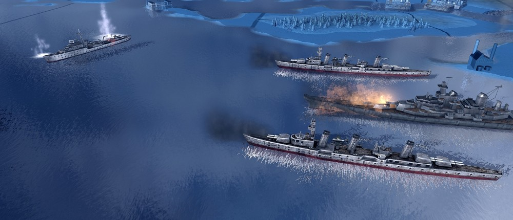 Авторы Hearts of Iron 4 объявили дату выхода морского дополнения Man the Guns