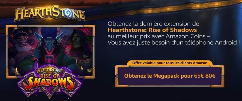 Hearthstone: утечка нового дополнения «Rise of Shadows»